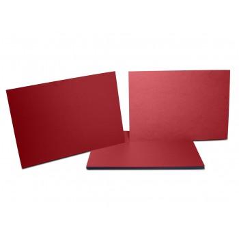 Rigid, thick, glossy, pressboard-type cardboard