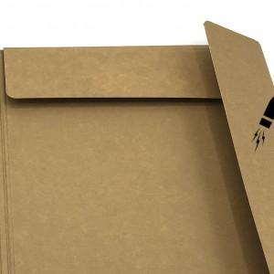 Cartelle a tre lembi chiusura con calamita formato A4 - dotati di portaetichette