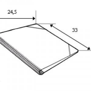 SEMPLICI CON ELASTICI UNI A4 modello 305