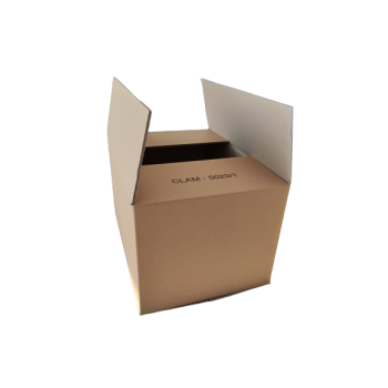 Large double wave packaging boxes, size 56.5x40 cm, height 33 cm