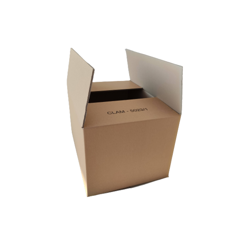 Large double wave packaging boxes size 39x27.5 cm height 30 cm.