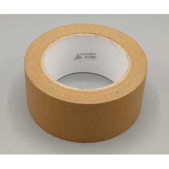 Brown paper tape width mm 50 rolls of 50 meters