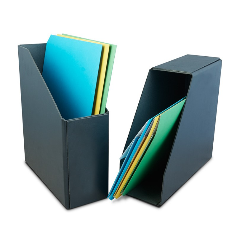 Magazine rack black OpenBox model F5137