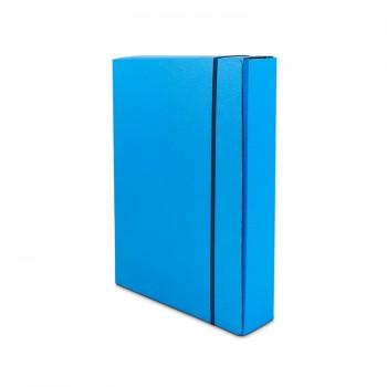 Folder with elastic hard back UNI A4 model 46