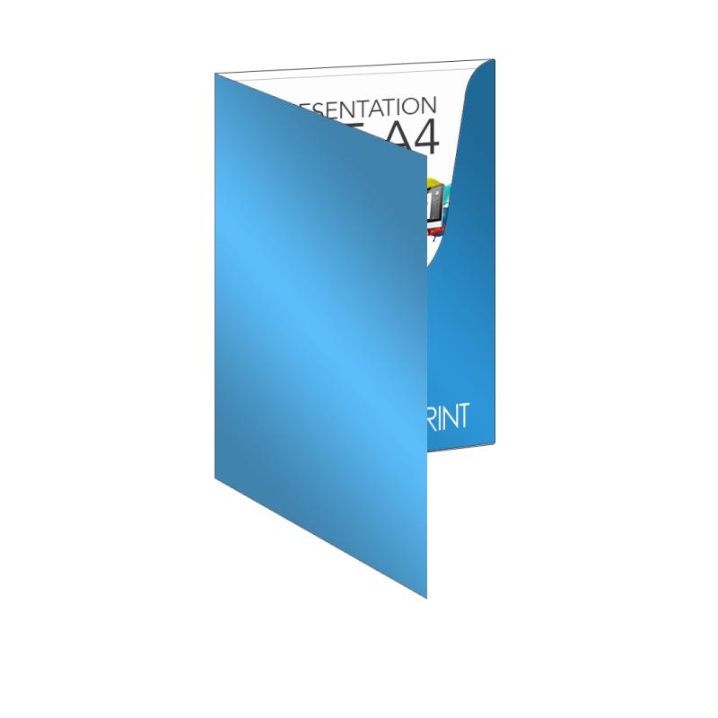 Presentation Folders A4 Customizer Polionda