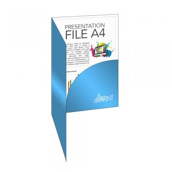 Presentation Folders A4 Customizer