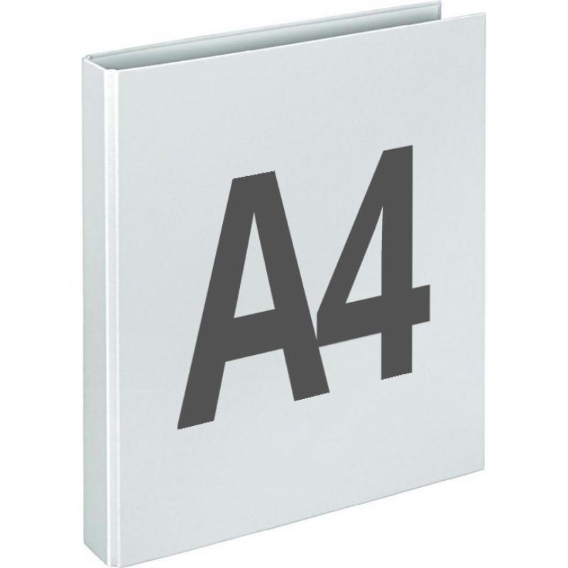 Lever arch file A4