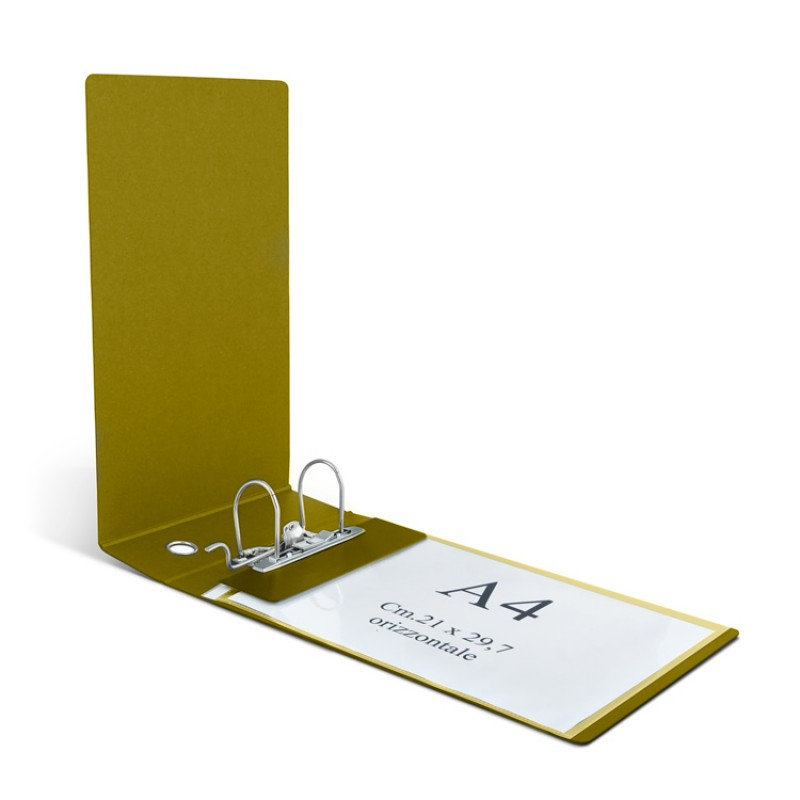 Clam Binder For Horizontal Envelopes And Uni A4 Sheets Back 8 Cm, Lever Mechanism.
