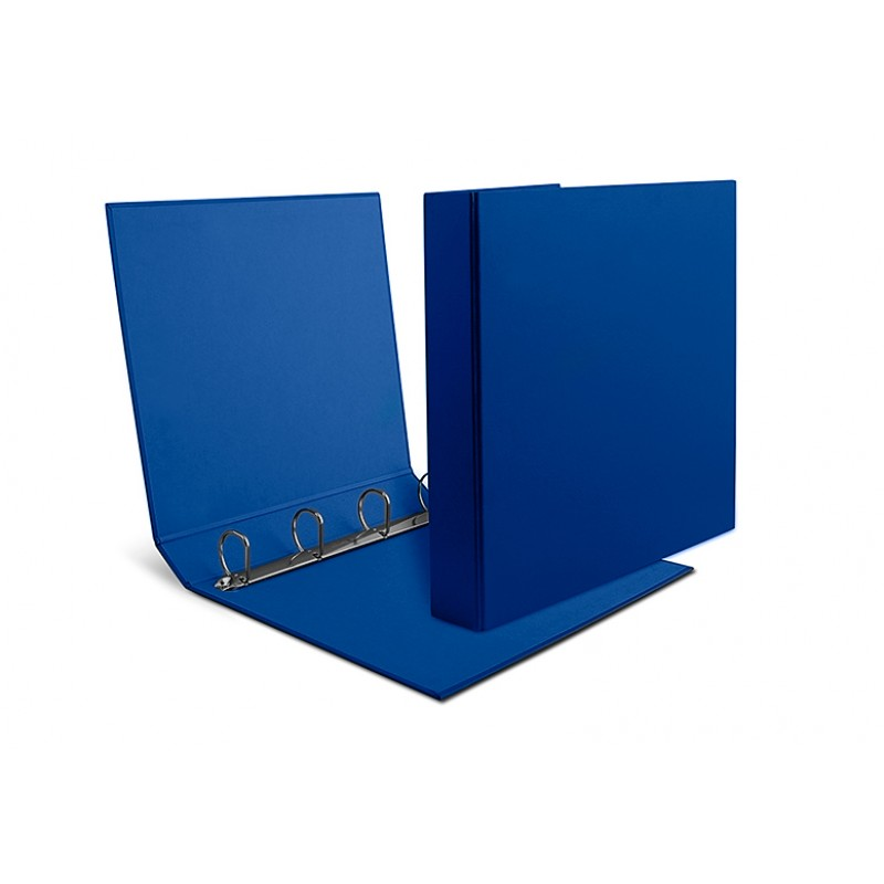 A4 binders in carton back 5.5 cm four rings model 455/4