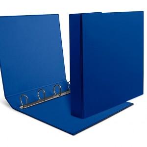 Raccoglitori UNI A4 in cartone dorso cm 5,5 quattro anelli modello 455/4